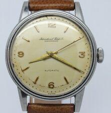 VINTAGE International IWC Schaffhausen 35mm Steel Mens Automatic Watch c.852