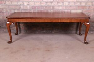 Kittinger Queen Anne Walnut Coffee Table