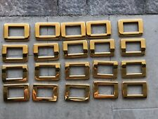 Placche Vimar Idea Rondò Metallo Oro Lucido 3 Moduli