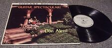"Don Alessi ""Guitar Spectacular"" TIFFANY RECORDS JAZZ-POP LP"
