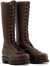"""Wesco Voltfoe 16"""" Brown Lineman Boots EHBR57161270"""