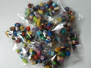 Random Bundle Of 10 Disney Tsum Tsums MINIS - 2cm no doubles