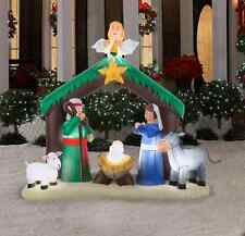 Christmas Outdoor Yard Decoration Inflatable Baby Jesus Nativity Airblown Decor
