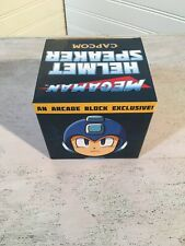 Mega Man Portable Helmet Speaker and Vinyl Figure Arcade Block Kid Robot 385