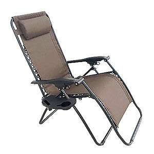 Four Seasons Courtya RXTV-1824-REG Verona Zero Gravity Chair, E-Coated Steel