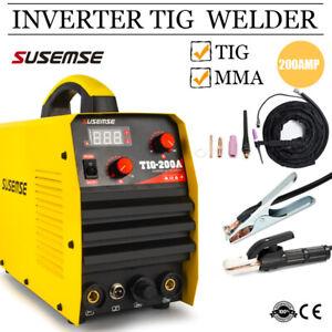 200Amp TIG MMA Welding Machine 2 IN 1 DC Inverter ARC Stick IGBT TIG Welder 240V