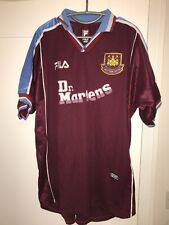 West Ham United Home Football Shirt 1999/2001 Good Condition Size Extra Large XL
