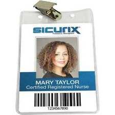 Sicurix Bau 67860 Id Badge Holderverticalpk50