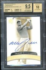2014 UD SP Authentic Chirography Autograph Graeme McDowell Rookie BGS 9.5 10 /25