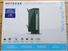 Netgear N300 Wireless ADSL2+ Modern Router DGN2200, BT Connection