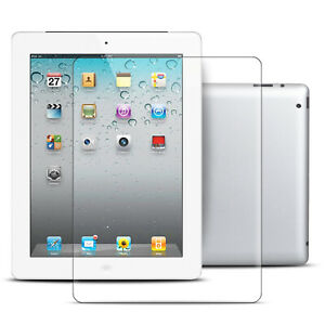 1x 3D Schutz-Glas für iPad 2/3/4 Displayschutzfolie Schutzglas 9H Hartglas Klar