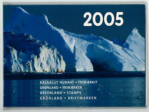 Official Complete Year Set of Greenland Stamps, MNH, VF, Greenland, 2005