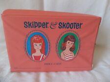 """Vintage Standard Plastic Products   """" SKIPPER & SKOOTER """"  Doll Case 1965"""