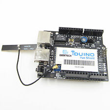 Arduino Yun Shield Linux WiFi Ethernet USB for Arduino Project