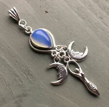 Simulated Glass Silver Plated Costume Jewellery