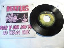 "THE BEATLES""BALLAD OF JOHN&YOKO-DISCO 45 GIRI APPLE Italy 1968"" C5"