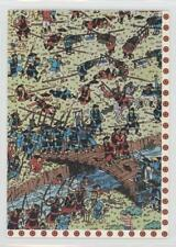 1991 Mattel Where's Waldo #112 Trouble in Old Japan Non-Sports Card 0b6