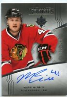 16/17 UPPER DECK ULTIMATE ROOKIE RC AUTOGRAPH AUTO MARK MCNEILL /299 *45133