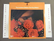 THE ANDREWS SISTERS/THE KING SISTERS LP ZENITH W/ DON'T SIT UNDER THE APPLE TREE