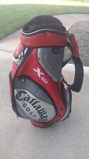 Callaway 12 Divider X460 Staff Golf Cart Bag with Raincover Read Description