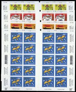2006, Schweiz, 1986-89 Bogen, ** - 1970013