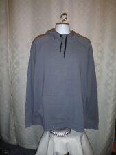 Gap Fit Active Men's Hoodie Sweatshirt XXL Med Grey 2 Kangaroo pockets NWT