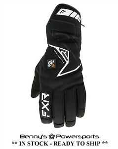 FXR Men's Transfer E-Tech Glove Insulated Heated Snowmobile Winter Snow
