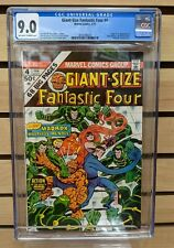 GIANT SIZE FANTASTIC FOUR #4 CGC 9.0 1st Appearance of the Multiple Man OW/W