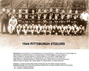 1944 PITTSBURGH STEELERS 8X10 TEAM PHOTO NFL FOOTBALL PICTURE CHICAGO CARDINALS