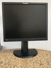 "19"" Lenovo ThinkVision L1900pA LCD Monitor VGA, DVI, ****TOP ZUSTAND****"