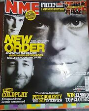 NME MAGAZINE MARCH 2005 - NEW ORDER -COLDPLAY- PETE DOHERTY