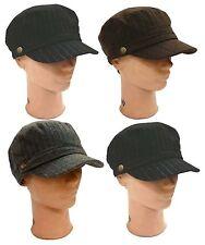 WHOLESALE LOT 12 PCS Herringbone Newsboy Cabbie Pin Stripe Cadet Castro Hat Cap