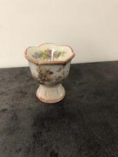 Vintage Porcelain Brown Bunny Egg Holder