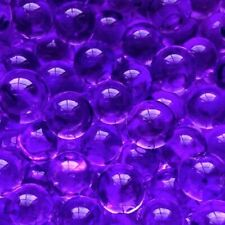 1 Bag(200pcs) Purple Water Blaster Beads Ball Crystals Orbeez Vase Filler Crafts