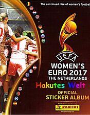 Panini Sticker Fußball Frauen Euro 2017 -  Niederlande - 30 Sticker aussuchen
