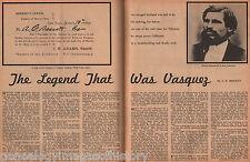 The Legend That Was Tiburcio Vasquez *+Adams,Bassett,Madigan,Murietta,Procopio,