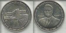 RWANDA 1000 FRANCHI 1989