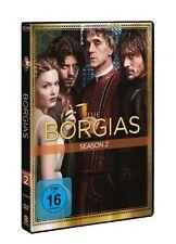 4 DVDs * DIE BORGIAS - SEASON / STAFFEL 2  - Jeremy Irons  # NEU OVP