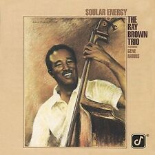 CD - The Ray Brown Trio - Soular Energy