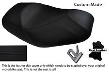 Negro Stitch Custom encaja Piaggio Mp3 125 250 300 400 500 de doble piel cubierta de asiento