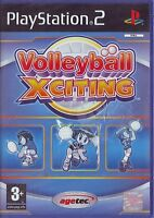 VOLLEYBALL XCITING (2004) PS2 PAL ITA ORIGINALE NUOVO SIGILLATO BRAND NEW
