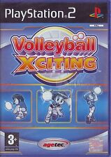 VOLLEYBALL XCITING (2004) PS2 PAL ITA ORIGINALE NUOVO RISIGILLATO* BRAND NEW