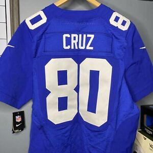 MSRP $295 Nike Victor Cruz New York Giants Elite Authentic Jersey Men's Size 48