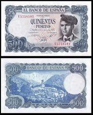 Facsimil Billete 500 pesetas 1971 - Reproduction