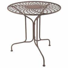 Esschert Design Tisch Gartentisch Bistrotisch Metall Viktorianischer Stil MF007