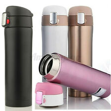 500ML Thermos Coffee Tea Travel Mug Stainless Steel Vacuum Flask Water Bottle US