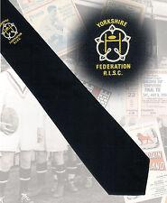 Yorkshire Federation RLSC,  - 7.5cm RUGBY LEAGUE TIE