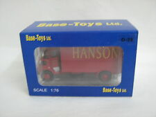 D28 Base Toys 1:76 Scale Leyland FG Van - Red - Hanson