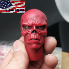 1/6 Red Skull Head Sculpt Hugo Weaving For Captain America Hot Toys ❶USA❶