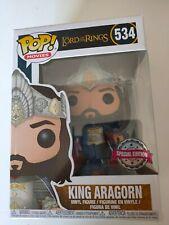 Funko POP ! King Aragorn 534 Lord of the rings - Signore degli Anelli -